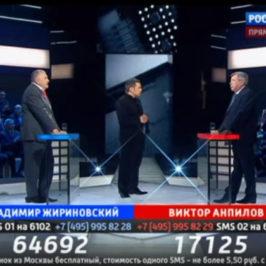 Поединок. Жириновский против Бома
